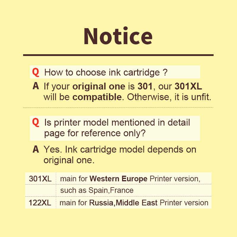 HWDID 301XL набор чернил для заправки картриджа Замена для hp/hp 301 для hp/hp 301 для Deskjet 1000 1050 2000 2050 2510 3000 3054 принтер