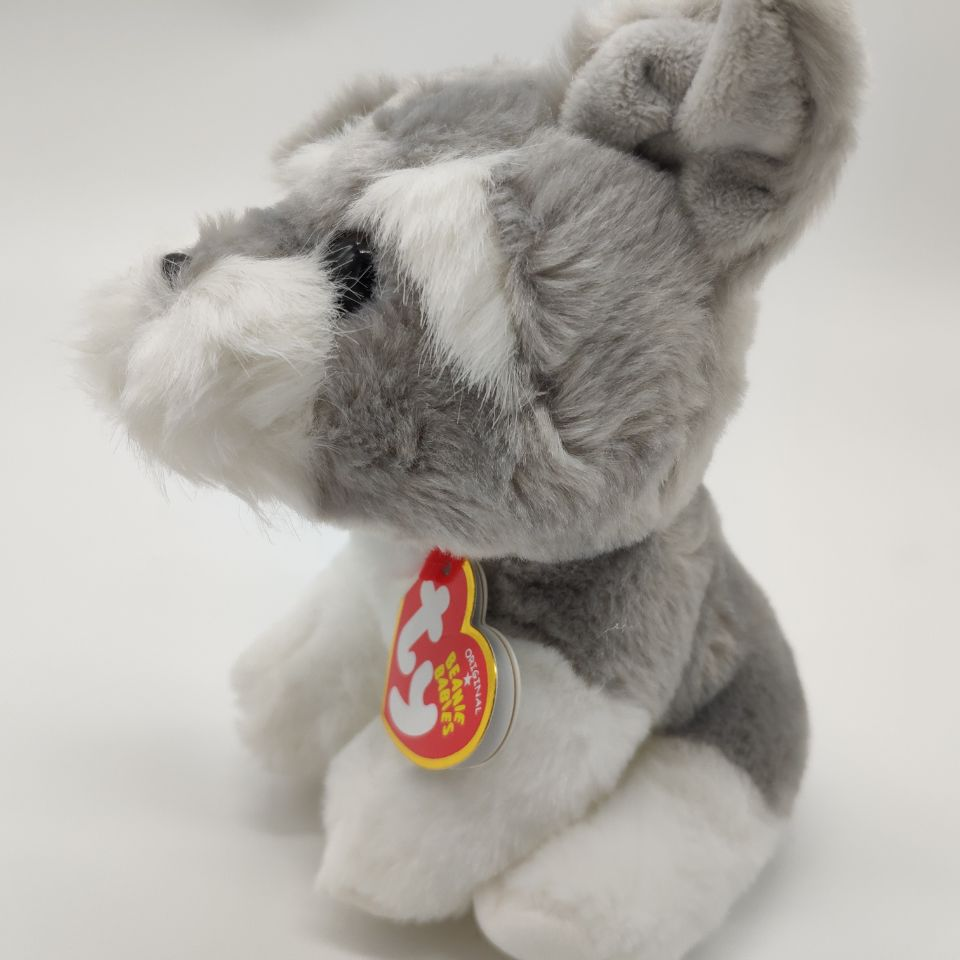 f74036e5833 harper grey Dog with tag and label TY BEANIE BABIES 15CM Plush Toys Stuffed  animals children toy soft toy home decor -in Stuffed   Plush Animals from  Toys ...