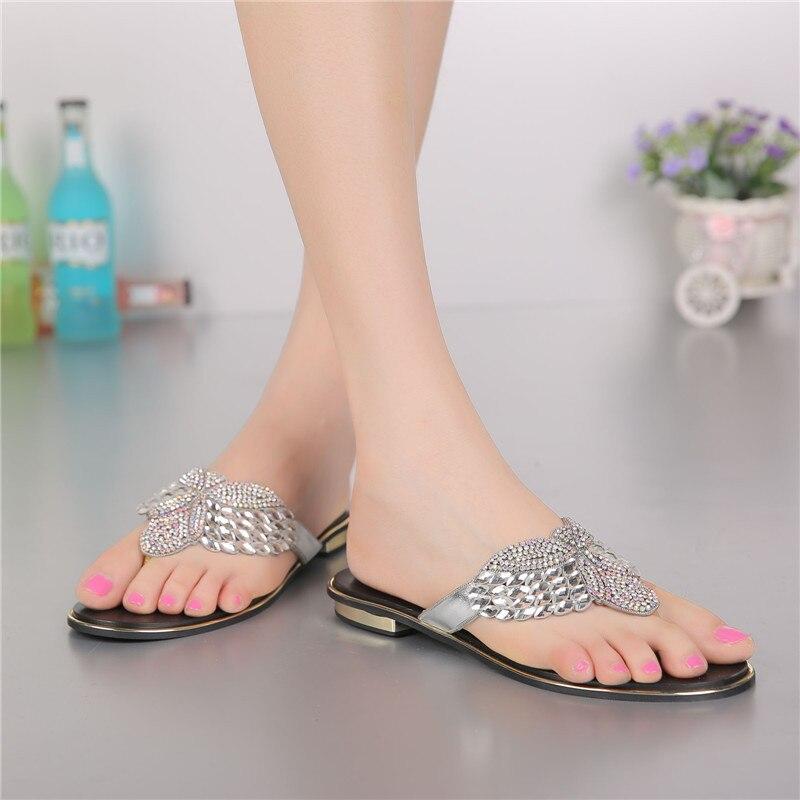2017 Women' Shoes Summer Flip Flops Slippers Elegant