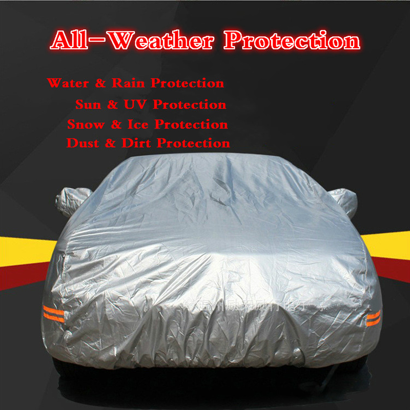 5 Layer Waterproof Full Pickup Truck Car Cover For Chevy Silverado 3500 HD CCT