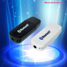 Fashion Portable USB Bluetooth Stereo MP3 Music Receiver Adapter Wireless Car Audio 3.5mm Bluetooth Receiver For iphone speaker