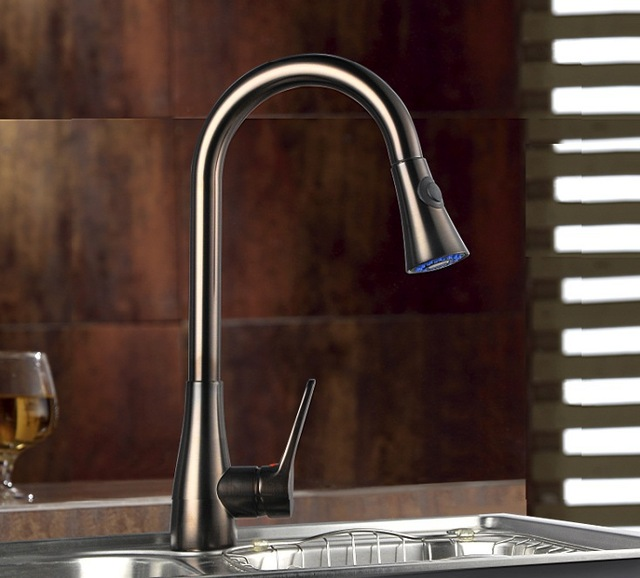 Black Kitchen Faucets With Sprayer black kitchen faucets. black onyx 8 center kitchen faucet lever