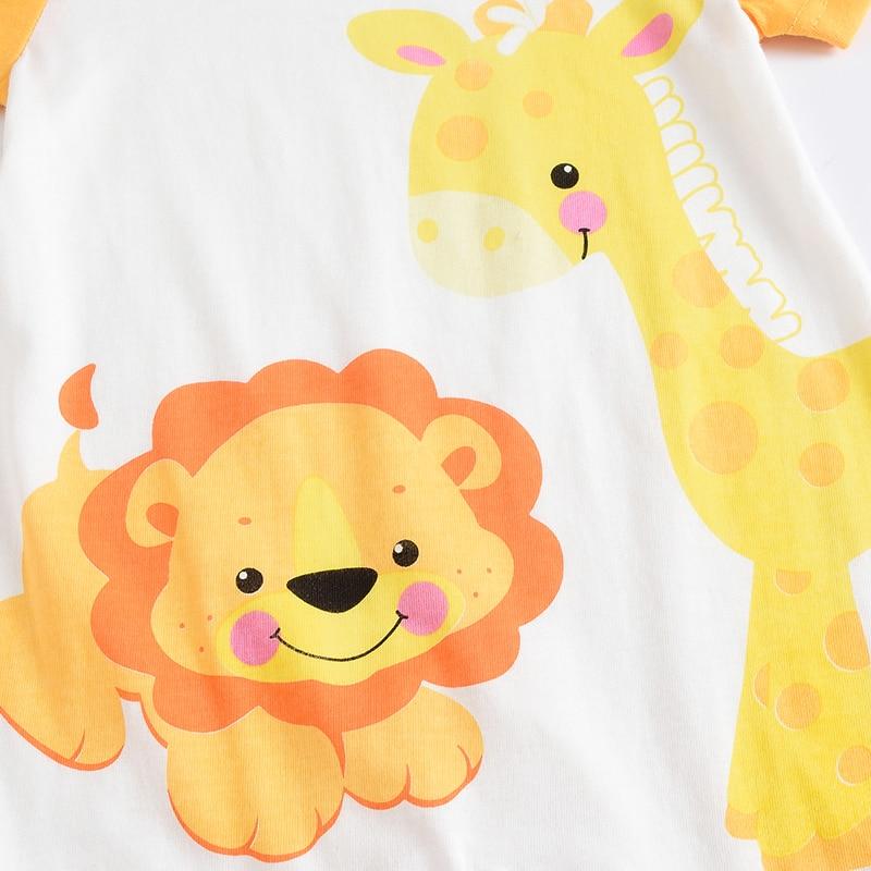 Dziecko Krótkie Rompers chłopiec dziewczyna kombinezon dzieci - Odzież dla niemowląt - Zdjęcie 3
