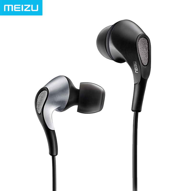 Meizu Flow Earphone In Ear Knowles Triple Driver Hybrid Armatures Dynamic Bass Venting System HIFI Monitor