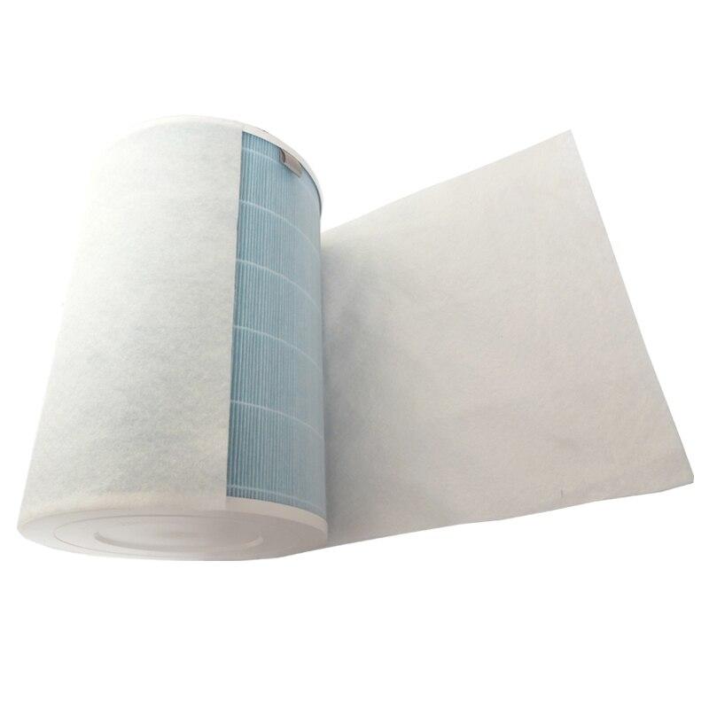 5pcs 68x30cm electrostatic cotton  for xiaomi mi air purifier pro / 1 / 2   universal brand air purifier filter Hepa filter xiaomi 30 shk01