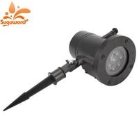 12 Model Replaceable Lens LED Colorful Rotating Laser Projector Lamp Projection Led Light Outdoor Garden Landscape