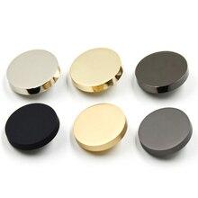 10 шт./лот, металлическая кнопка, цинковый сплав, хвостовик, кнопка для ветронепроницаемая куртка, кнопки, застежка, покрытие, металлические кнопки, швейные принадлежности