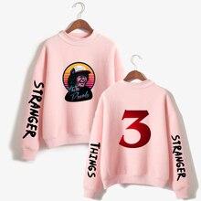 LUCKYFRIDAYF K-pop New Stranger things 3 Oversize Turtleneck Women Geometric Hoodie Sweatshirts fashion Winter/Autumn Clothes
