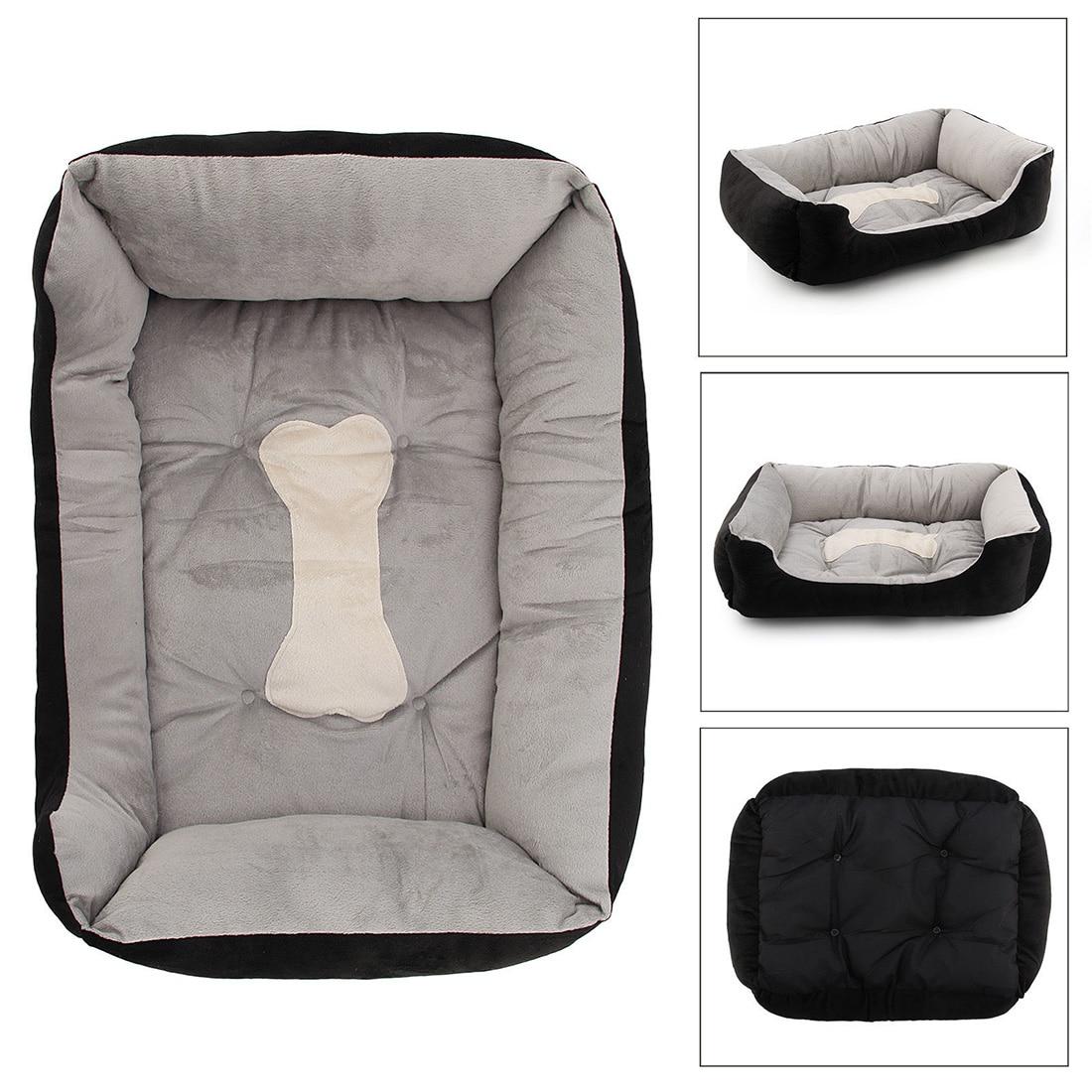 Extra Large Luxury Washable Pet Puppy Cat Dog Bed Cushion Soft Mat Warmer Basket