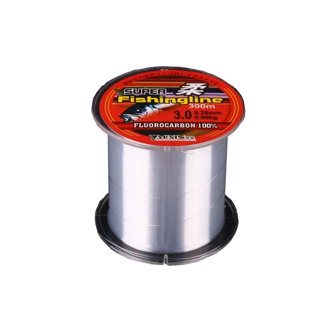 Best Price Fishing Line 100/150/200/300/500M Super Strong 100% transparent Nylon Not Fluorocarbon Fishing Tackle Non-Linen Multifilament