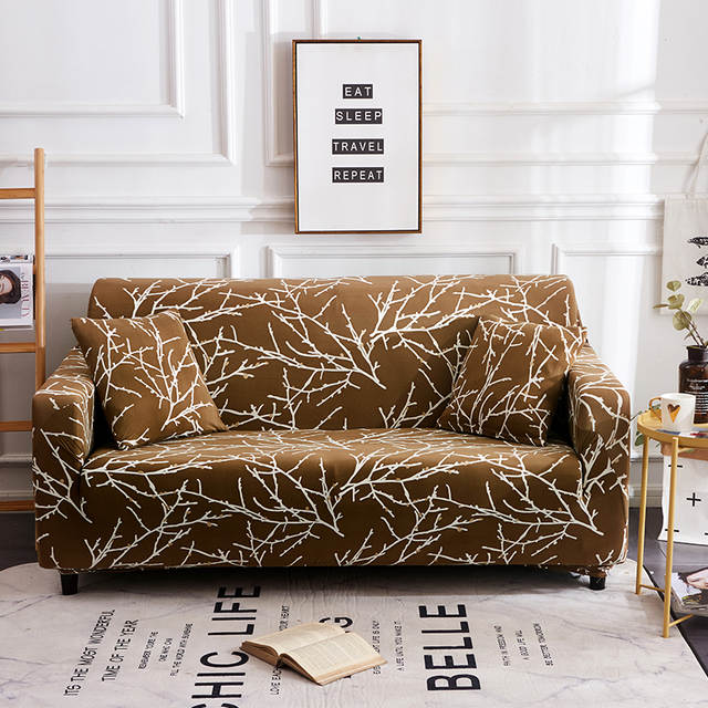 US $17.99 36% OFF|Retro Decor Large Elastic Comfortable Sofa Furniture Set  Washable Modern Luxury Flower Sofa Cover Sofa Covers for Living Room-in ...