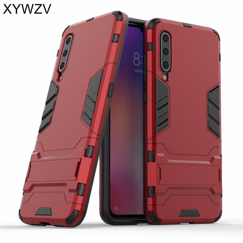 <font><b>Xiaomi</b></font> Mi <font><b>9</b></font> Case Shockproof <font><b>Cover</b></font> Armor Protect Soft Silicone Hard PC Phone Case For <font><b>Xiaomi</b></font> Mi <font><b>9</b></font> Back <font><b>Cover</b></font> For <font><b>Xiaomi</b></font> Mi9 Mi <font><b>9</b></font> image