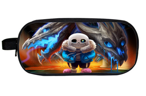 2018 New Undertale Boys Girls Cartoon Pencil Case Bag School Pouches font b Children b font