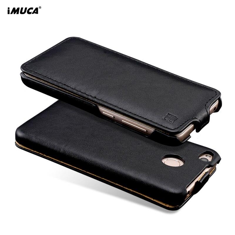 Luxus Flip Ledertasche Für Xiaomi Redmi 4x Fall Cover iMUCA weiche Silikon Wallet Phone Cases Für Xiaomi Redmi 4x Pro Fall
