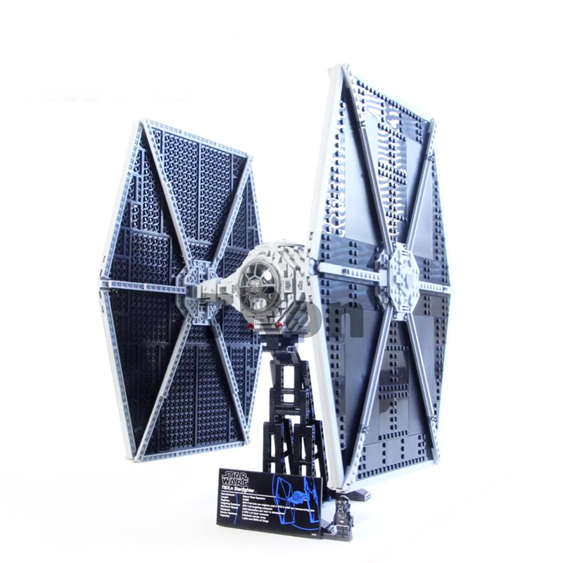 1685pcs Star 05036 Series Wars Tie Fighter Model Building Toys hobbies Educational Blocks Bricks Compatible with lego 75095 Gift new 1685pcs 05036 1685pcs star series tie building fighter educational blocks bricks toys compatible with 75095 wars