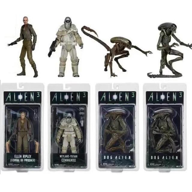 US $23 69 21% OFF|Aliens vs Predator Figure Aliens 3 Series 8 Weyland  Yutani หน่วยคอมมานโดสุนัข Alien Ellen Ripley