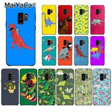 MaiYaCa Animal dinosaurios rinoceronte y Batman lindo caso de teléfono para Samsung Galaxy S6 S7 borde S6 edge plus S5 S9 caso iPhone(China)