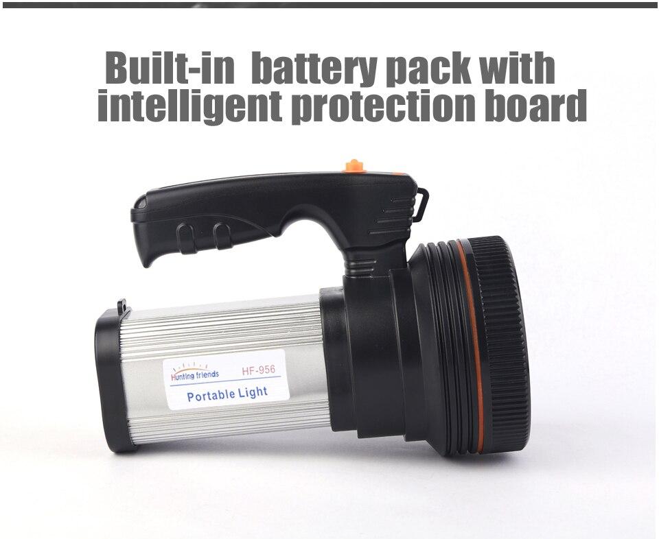 HTB1cwf aznuK1RkSmFPq6AuzFXaa - Super Bright LED Portable Light(Built-in 9000mA li-ion Battery)+USB Chaging cable+ Shoulder Strap Black/Silver/Gold Color Option