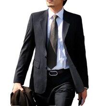 Горячая распродажа деловой одежды однобортный полный рукав мужчины slim-глядя летнее время мужчины специальной конструкции формальный уютный