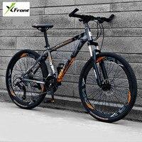 New Brand Mountain Bicycle 24/27/30 Speed 26 inch Wheel Aluminum Alloy Frame Bike Outdoor Sport Downhill Disc Brake Bicicleta