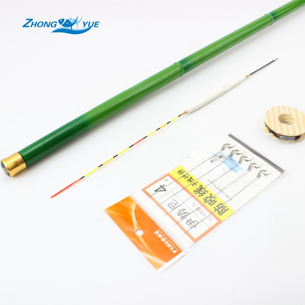 Promotion! Telescopic Carbon Fiber Fishing Rod 3.6M-7.2M Ultra-light Carp Fishing Pole Stream Hand Rod Perfect suit