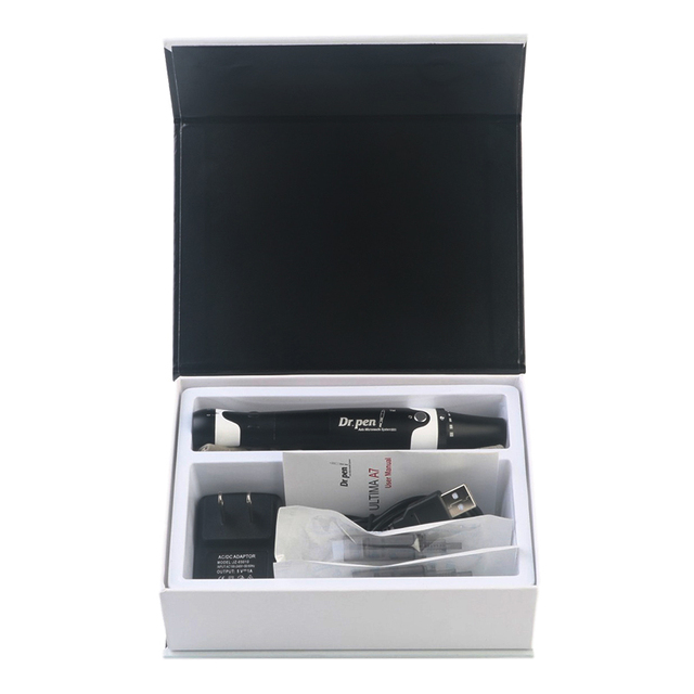 New Dr. Pen A7 Derma Pen Facial Care Massager Auto Mcro Needle Cartridges Pen Wired Microneedling System