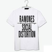 brand new the ramones white zombies vintage vogue high quality cotton t shirt punk fashion new arrival