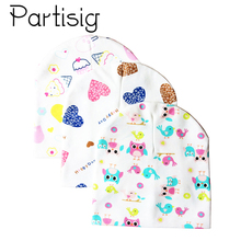 Partisig Baby Hat Cotton Print Cap Kids Beanie For Girls And Boys