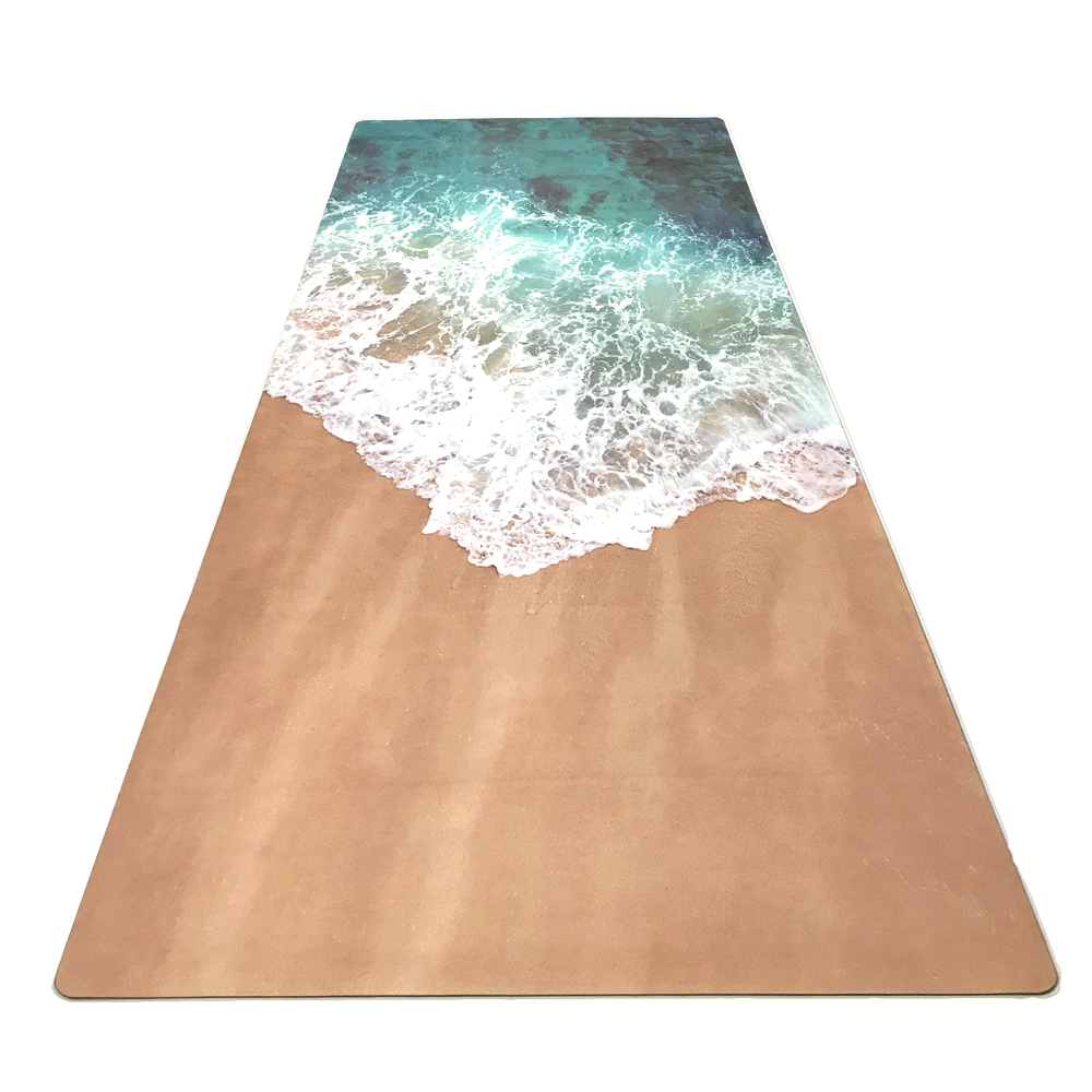 GM 183cm*61cm*3.5mm Natural Rubber Suede Fabirc Non-Slip Environmental Protection Lose Weight Exercise Mat Fitness Yoga Mat position line more longer natural rubber non slip tapete yoga suede fabric lose weight exercise mat fitness yoga mat