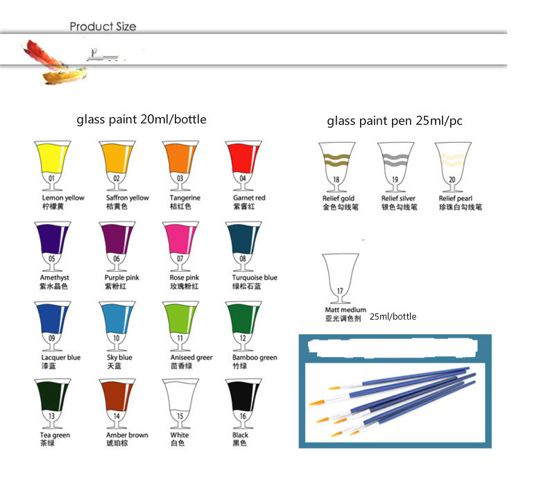 arte suprimentos 25 ml garrafa