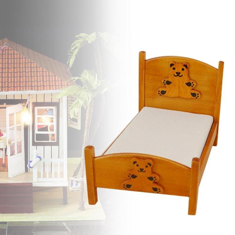 Casa de muñecas Tocador 1:48 escala 1//4 pulgadas mini en miniatura muebles de dormitorio