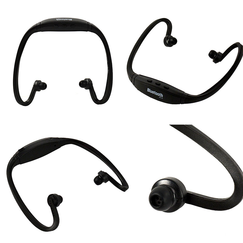 83f3d84a151 Lowest Price Universal Sport Stereo Handsfree Wireless Bluetooth Headset  Earphone Headphone Micro Music Player for all phones