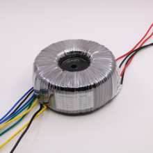 300W Toroidal Transformer AC220V Output: 24V-0V-24V, 15V-0V-15V (1A), 0-12V (1A) Pure Copper Wire High Power Power Supply toroidal transformer copper custom transformer 115 230vac 220vac 120va dual 12v 15v transformer for pre amplifier board