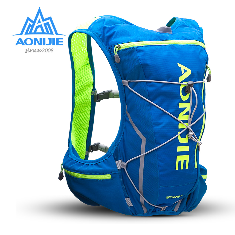 AONIJIE E904S 10L Hydration Pack Backpack Rucksack Bag Vest Harness Water Bladder Hiking Camping Running Marathon Race Sports-in Running Bags from Sports & Entertainment    1