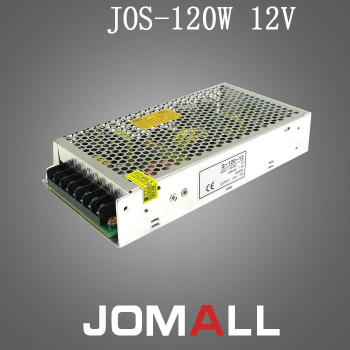 Universal 12V 10A 120W Switching Power Supply Driver Transformer Control for LED Strip Light Lighting free shipping universal 12v 1 3a 15w switch power supply driver switching for led strip light display 110v 220v s 15 12