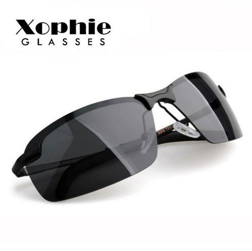 XINFIETE Brand Men Retro Polarized Pilots Sunglasses Outdoor Sports Glasses Lenses UV400 Polarized Light