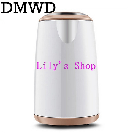 Electric hot water heating kettle stainless steel household Anti Dry boiling electric kettle tea pot Boiler 220V 1.5L EU US plug cukyi 110v 450w multifunctional electric boiler student dormitory pot noodle electric kettle hot pot 1 2l