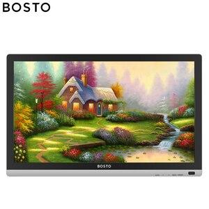 Image 2 - Графический мини монитор Bosto для рисования, волшебная Подставка для планшета для художника с водонепроницаемым экраном и стилусом без батареи, художественная перчатка подставка