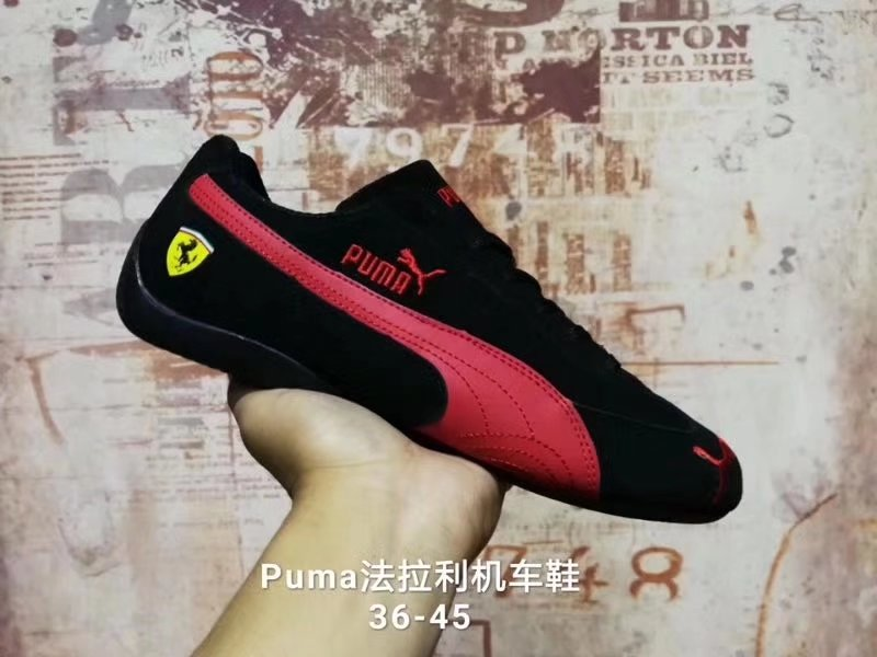 Novedad 2017 Puma Ferrarimotorcycle zapatos Creepers mujer y hombre Zapatos transpirables zapatillas bádminton zapatos Size36-44