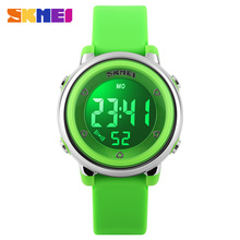 SKMEI Sports Children Watch 1100 Digital Watches Waterproof Alarm Back Light Digital Complete calendar Wristwatch