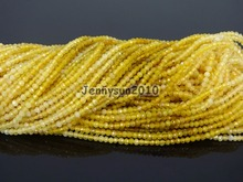 Grade AAA Brilliant Cut Shining Natural AA Yellow Opal Gems Stones 2mm Faceted Round Beads 15″ Jewelry Making 2 Strands/Pack