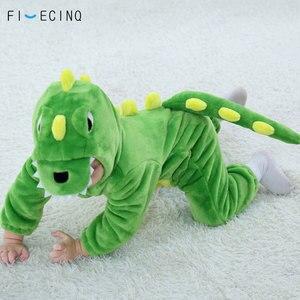 Image 2 - طفل ديناصور كيجوروميس الأخضر الحيوان الكرتون تأثيري حلي الرضع الطفل ارتداءها onabiece نيسيي الفانيلا مريحة فانتاسياس