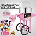 Электрическая коммерческая машина для производства хлопковых конфет/производитель нитей розового цвета VEVOE по лучшей цене с сертификатом ...