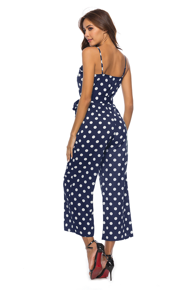HTB1cwkybdfvK1RjSspoq6zfNpXal - Women Rompers summer long pants elegant strap woman jumpsuits polka dot plus size jumpsuit off shoulder overalls for womens