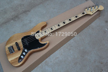 Besten Preis Großhandel 100% Neue 4 String Natural Color Bass Guitar 1112