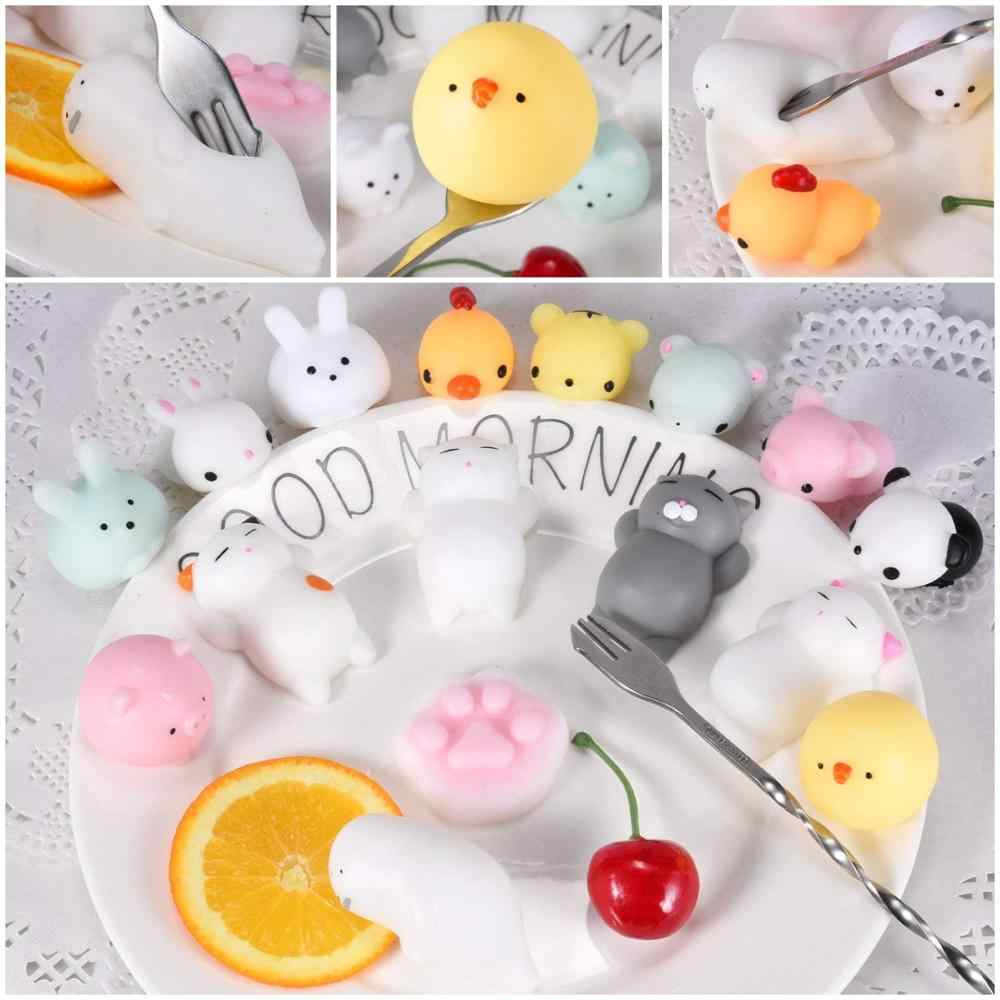 Mini Squishy Toy Cute Animal Antistress Ball Squeeze Mochi Rising Toy Abreact Soft Sticky Squishi Stress Relief Toys Funny Gift