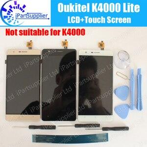 Image 1 - Oukitel K4000 Lite LCD Display + Touch Assemblea di Schermo di 100% Originale LCD Digitizer Vetro del Pannello di Ricambio Per Oukitel K4000 Lite