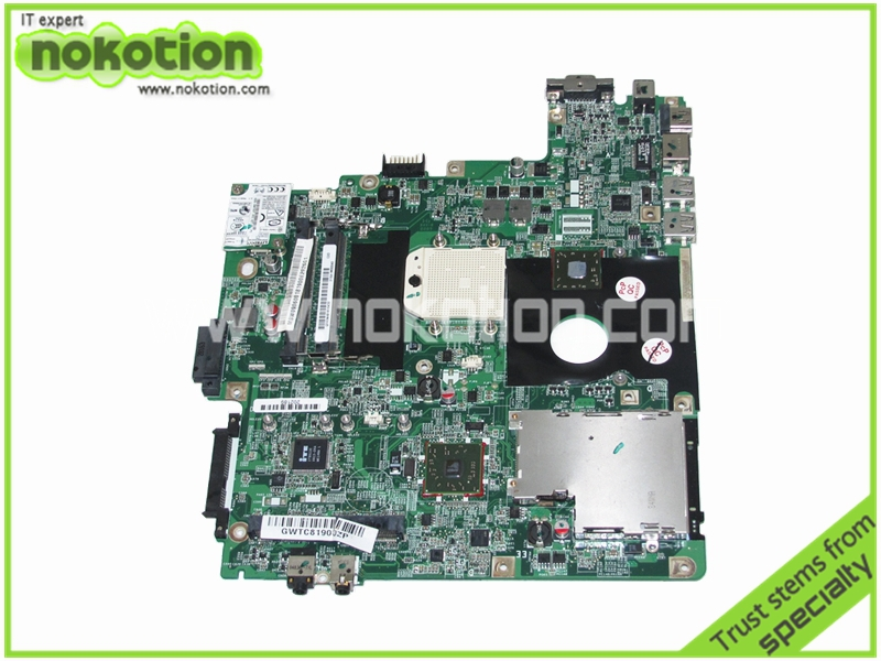 DASA1AMB6C0 MBW0906001 Laptop motherboard foe Gateway M-1629 Series AMD MB.W0906.001 Mainboard