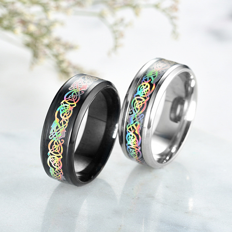 LNRRABC Ring Steel Finger Jewelry For wholesale Rings Fashion dropshipping Stainless Punk Middle Rings Men Women