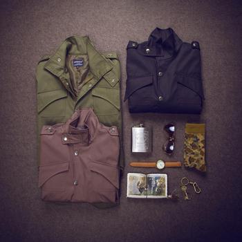 Vestes Militaires Hommes   Nouveau 2019 Vestes De Style Militaire Pour Hommes Veste En Coton à Col Montant Simple Jaqueta Masculina JK1 Grande Taille